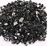 Black Reflective 1/4″ Fire Pit Fire Glass 10lbs For Sale