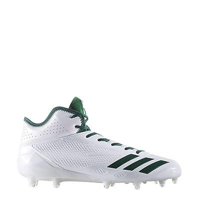 c6f6981aae8 adidas Adizero 5-Star 6.0 Mid Cleat - Men s Football 8 White Dark Green