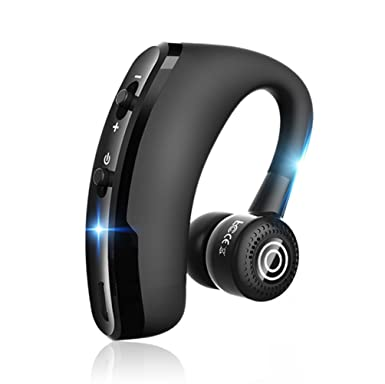 SOCINY Bluetooth Headset, Wireless Bluetooth Earpieces Hands Free Earset  In-Ear Earbuds Earphones Noise Cancelling for Huawei Mate 20/20 Pro/20