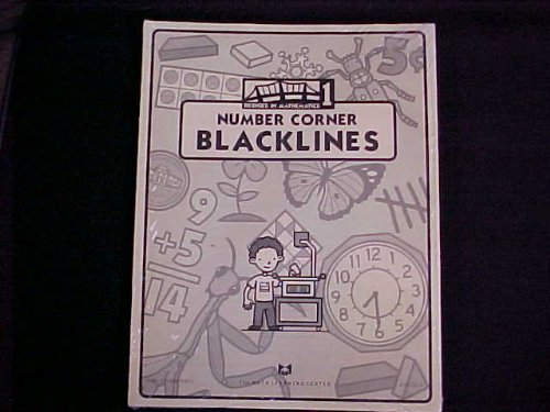 Bridges In Mathematics Grade 1 Number Corner Blacklines ISBN - Tysons Centre Corner