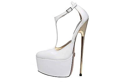 3f686b70b98 Giaro Hero 1002 High Heels in Übergrößen Weiß große Damenschuhe ...