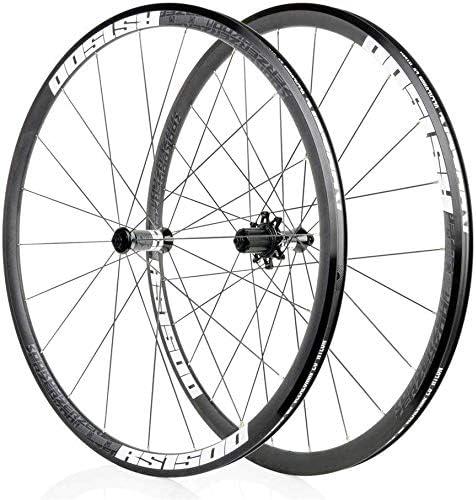HJRD Juego de Ruedas de Bicicleta 700C, llanta aleación de ...
