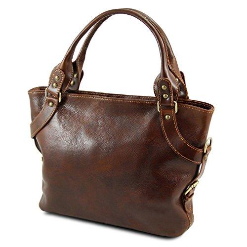 épaule Leather Tuscany Ilenia Marron Marron Sac à wZxxdRI