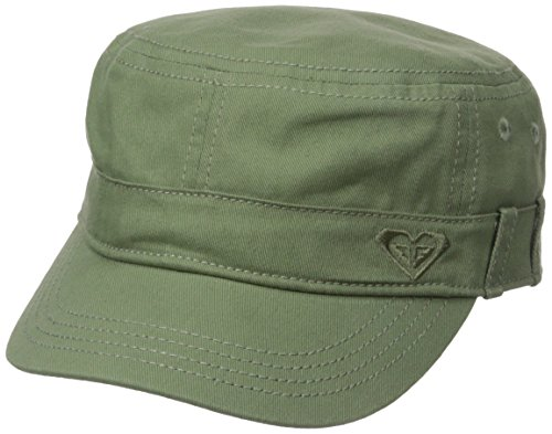 Roxy Junior's Castro Military Hat, Oil Green, One Size -