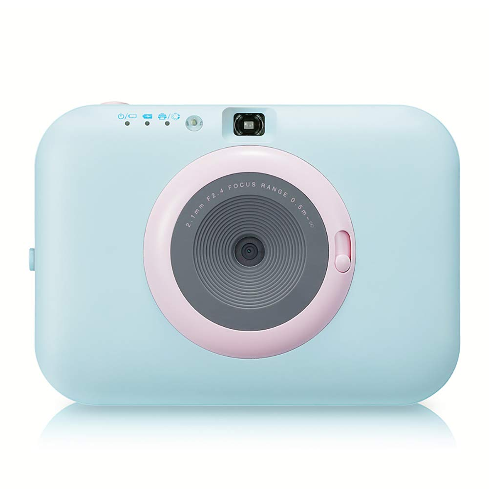 SFXYJ Instant Photo Printer,Mini Portable Pocket Color Wireless+Camera Function,Blue by SFXYJ (Image #6)