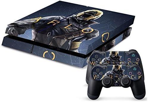 Playstation 4 + 2 Controller Design Sticker Protector Set - Destiny Warlock /PS4 by THTB: Amazon.es: Videojuegos