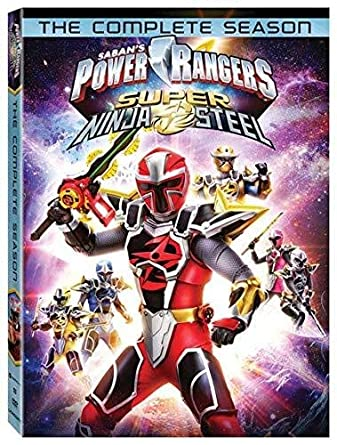 Power Rangers-Super Ninja Steel 3 Dvd Edizione: Stati Uniti ...