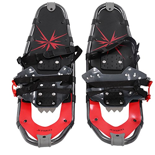 MD Group Sports Snowshoes Winter Snow Ski Walking Poles All Terrain Hunting Foot Gear Equipment by MD Group