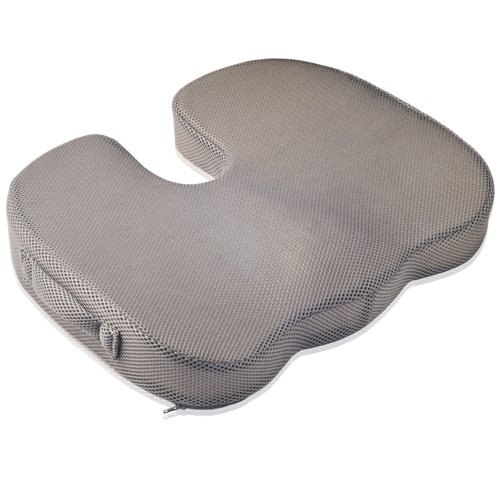 Why Should You Buy Dr. Frederick's Original Tailbone Pain Relief Cushion - Firm Memory Foam Coccyx C...