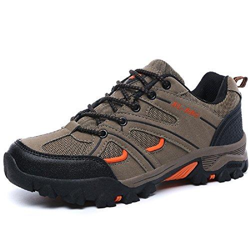 Running Khaki Climbing Venture Hiking Hanxue Shoes Men's Trail Shoe shoe qZRET