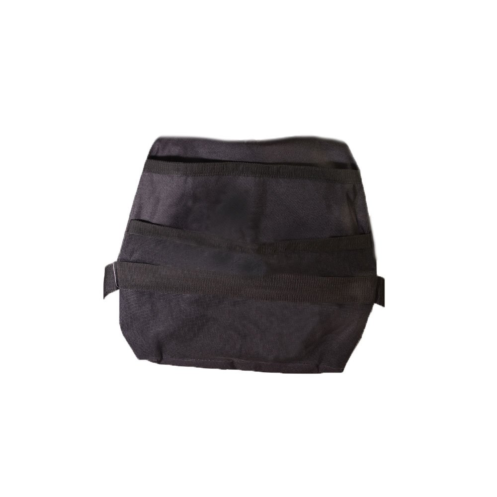 Drive Medical Deluxe Front Walker Nylon Carry Pouch, Black, 17. 5'' x18. 5'' x1''