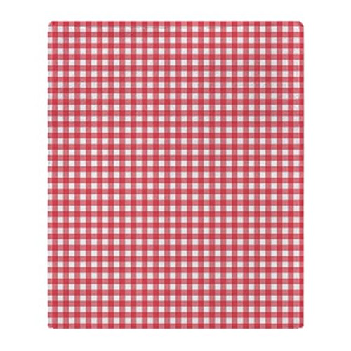 CafePress Gingham Pattern Blanket Stadium