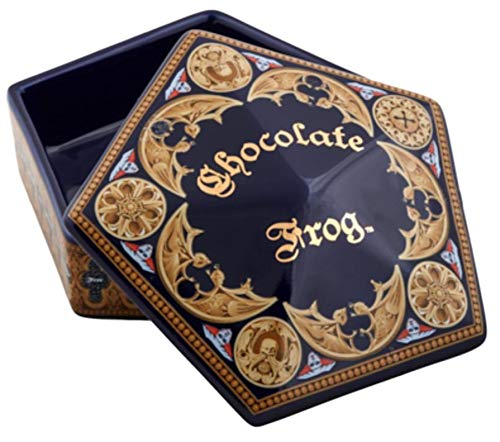 (Chocolate Frog Universal Studios Wizarding World of Harry Potter Ceramic Trinket Box)