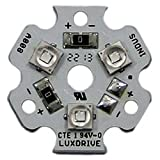 Cree Xlamp XP-E2 Blue 3-Up (Triple) LED Star