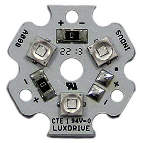 Cree Xlamp XP-E2 Blue 3-Up (Triple) LED Star