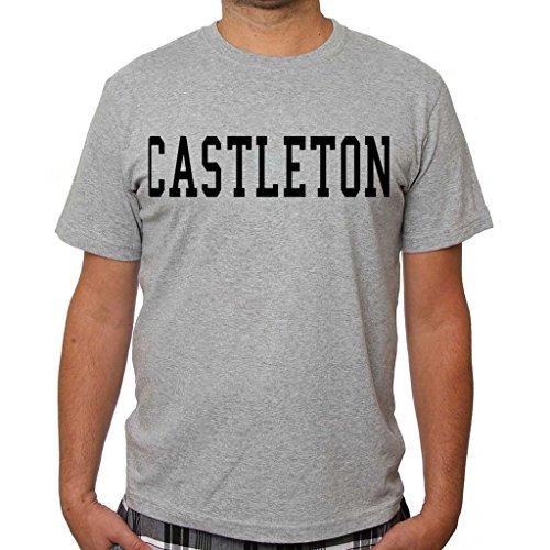 Richess Men's Castleton Cool T Shirt Designs Mst3K Printed Shirts Grey
