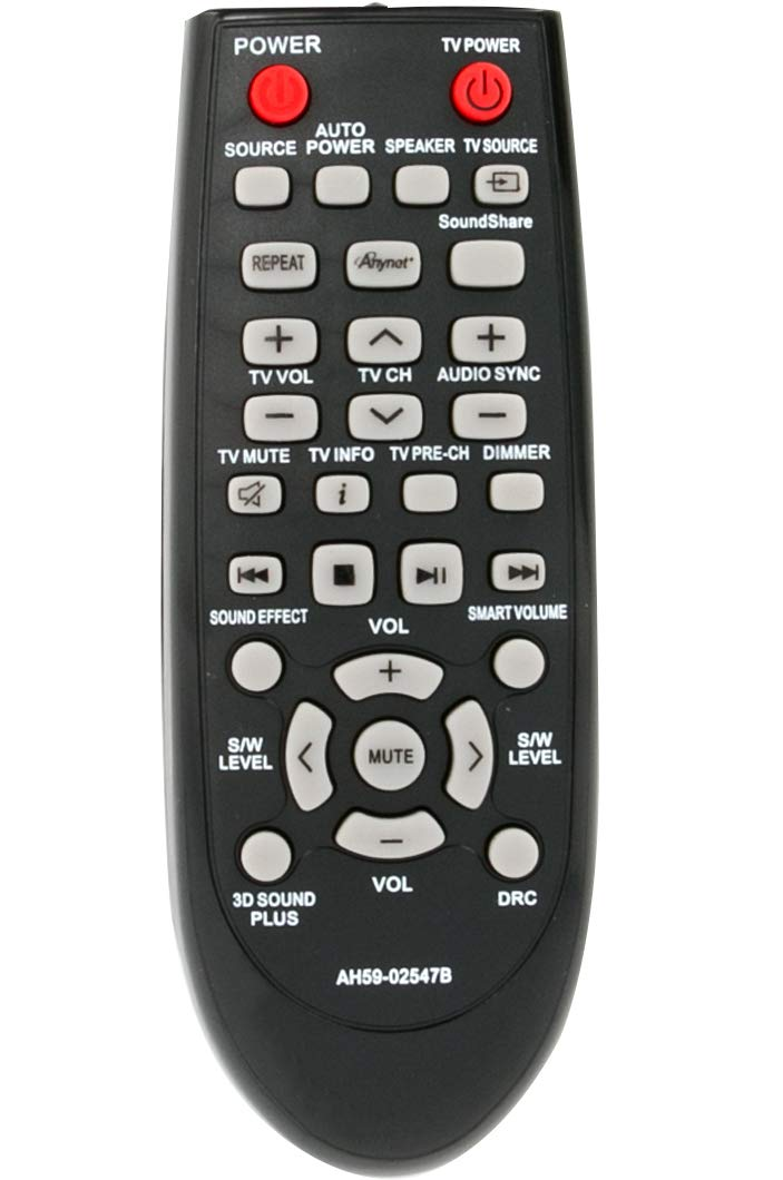 ALLIMITY Remote Control AH59-02692E Replacement for SAMSUNG Sound Bar HW-JM35 HW-JM45 HW-JM6000 HW-JM60 HW-J355 HW-J450 HW-J550 HW-J551 HW-J600000C