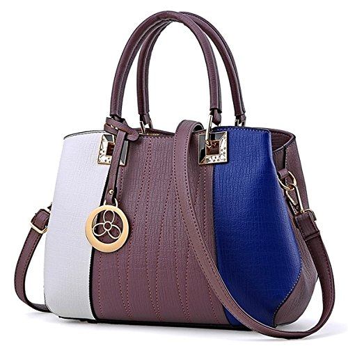 Single Bag Ladies Handbag 3 Purple Shoulder qpvqawO