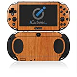 iCarbons Light Wood Vinyl Skin for PS Vita Slim (2000) Playstation