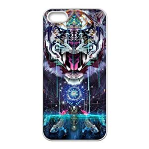 Tiger Unique Fashion Printing Phone Case for Iphone 5,5S,personalized cover case ygtg539163