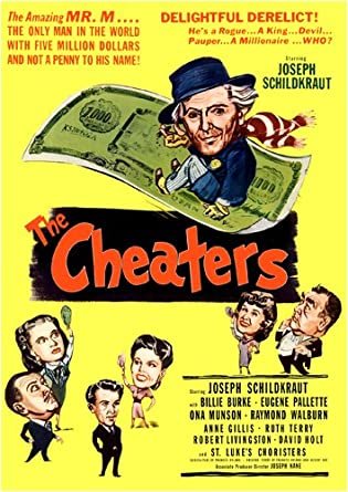 Amazon com: The Cheaters: Joseph Schildkraut, Billie Burke
