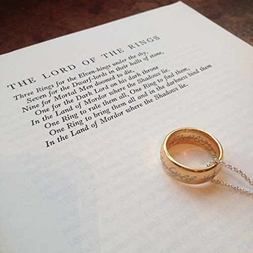 King Will MAGIC 7mm Anillo de titanio chapado en oro Señor de anillo Banda de boda de ajuste cómodo para hombres Mujeres (8)