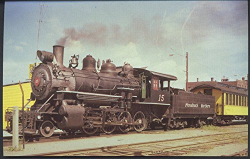 Monadnock Northern Locomotive Number 15 Oneida Western Railroad Train Postcard