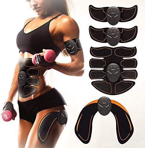 Bon-Su Muscle Toner - Abdominal Toning Belt Fit for Body Arm - Abs Trainer Muscle Toner - Muscle Stimulator - Electrical Muscle Stimulation Abs Stimulator at Home Office Gymnasium or Gym 1