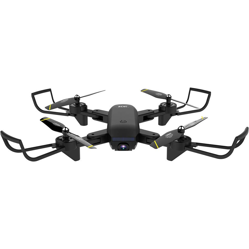 LikeroNew SG700-D 2.4Ghz 4CH Wide-Angle WiFi 4K HD Dual Camera Optical Flow RC Quadcopter Drone Hover,Beginners -Controlled Through The Mobile Phone App -One-Key Start&one-Key Landing (Black) by Likero (Image #5)