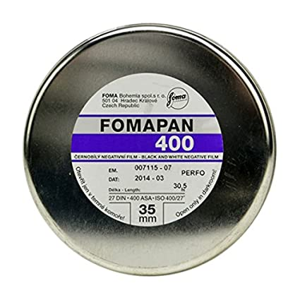 Foma Fomapan 400 ISO Black & White Negative Film, 35mm, 24 exposure 420424