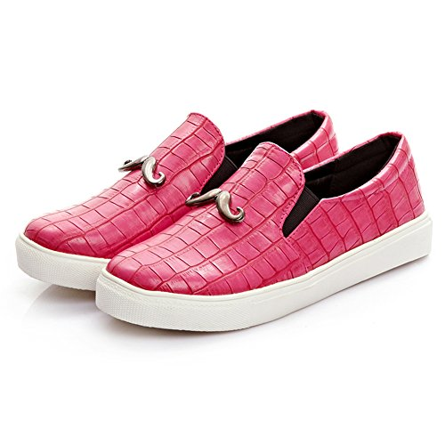 Vacation Fashion Bling Loafer Slip Moustache DolphinGirl Shiny CY00453 Shoes Pink Women Loafer Comfy On Platform Glitter pxE8fgEwq