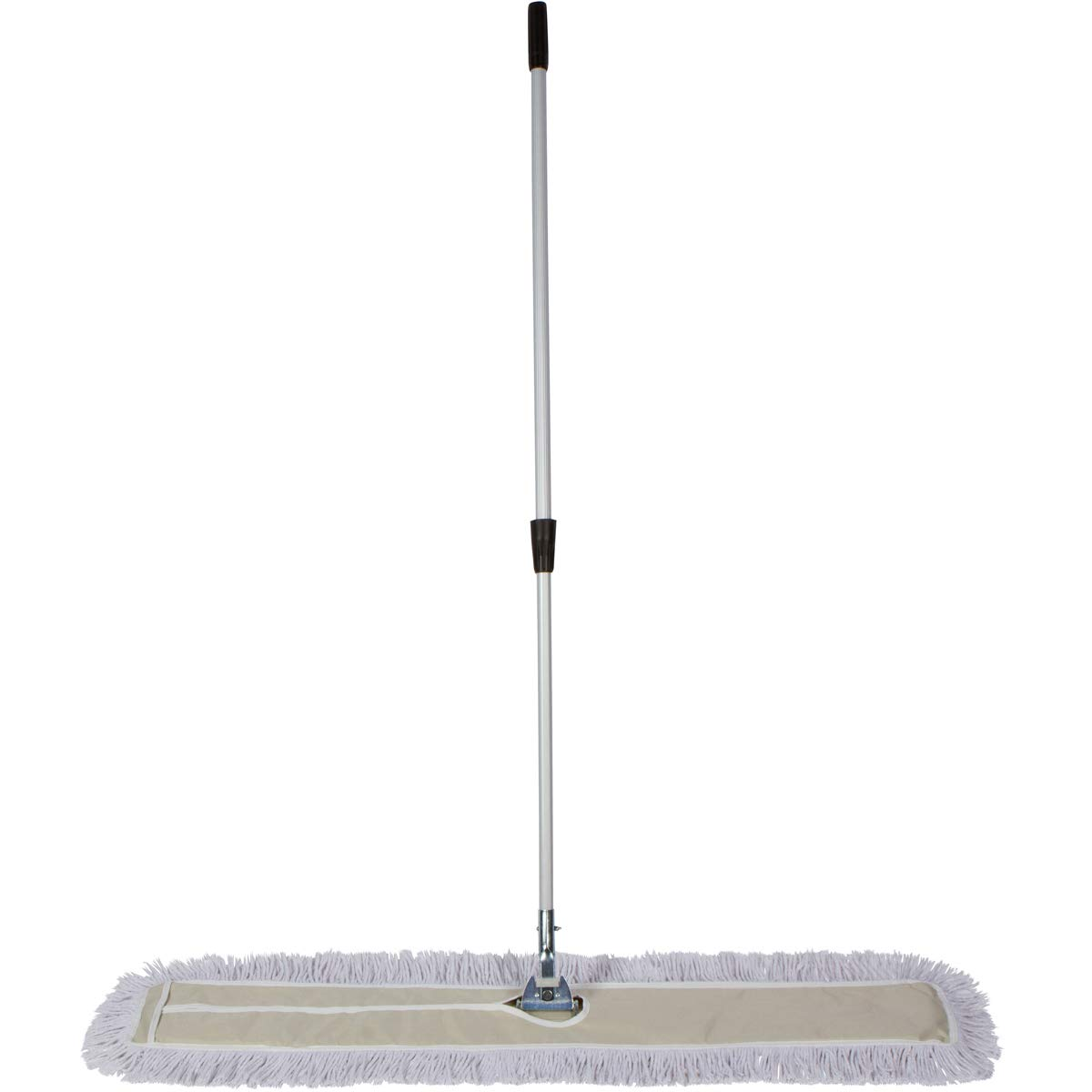 Tidy Tools 48 Inch Industrial Strength Cotton Dust Mop with Extendable Metal Telescopic Handle and Frame. 48'' X 5'' Wide Mop Head with Cut Ends by Tidy Tools (Image #3)
