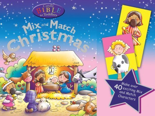 Read Online Candle Bible for Toddlers Mix and Match Christmas by Juliet David (2008-07-22) pdf