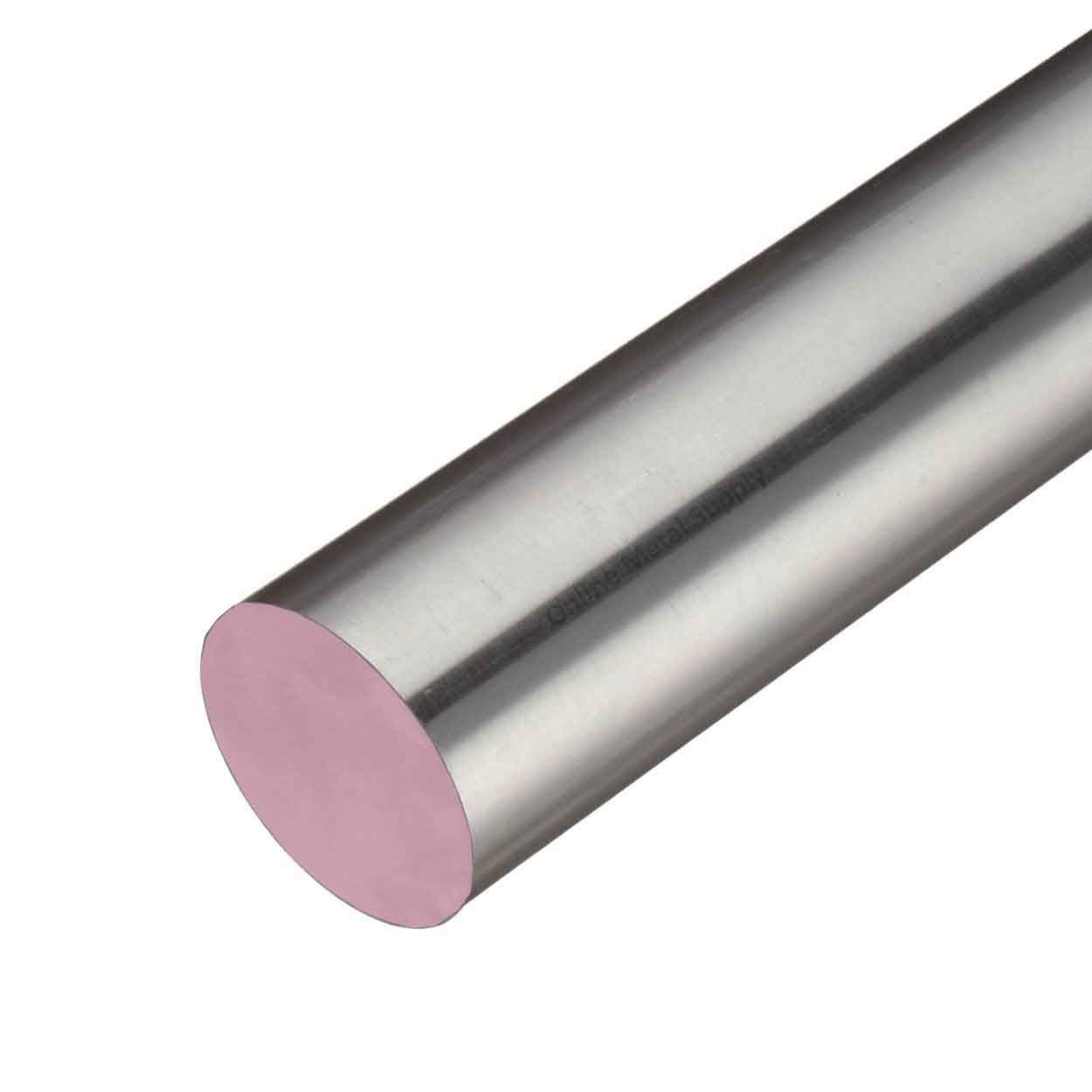 Online Metal Supply 303 Stainless Steel Round Rod, 0.500 (1/2 inch) x 36 inches by Online Metal Supply