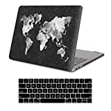 Macbook New Pro 13' 2017&2016 Release Rubberized Hard shell Case+Keyboard Cover For MacBook Pro 13 A1706/A1708 W/Without Touch Bar (Macbook New Pro 13' With/Without Touch Bar, Nebula Map)