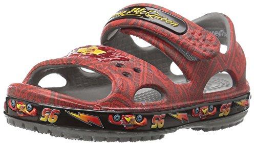 crocs Unisex-Kinder Cbnd2ltmcqueen Clogs Rot (Flame)