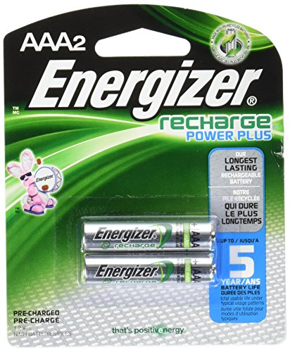 Energizer Recharge Power Plus AAA 800 mAh Rechargeable Batte
