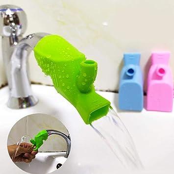 Wasserhahn Extender Verlängerung Kinder Baby Handwaschbecken Badezimmer Küche