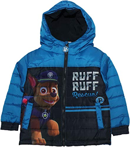 (Paw Patrol Boys Ruff Ruff Winter Jacket Blue 3 Years)