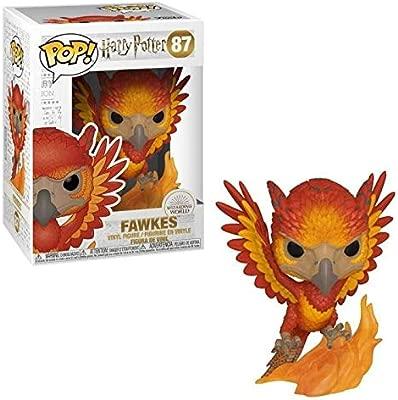 Funko- Pop Figura de Vinilo: Harry Potter S7-Fawkes Coleccionable, Multicolor, Talla única (42239)