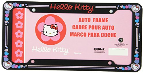 hello kitty car tag - 3