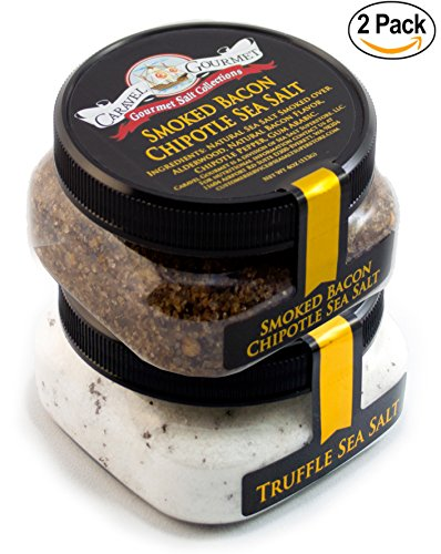 Truffle Smoked Bacon Chipotle Gift Combo - Our #1 Best Selling Combo Pack - Steaks, Popcorn, BBQ, Fries, Salads and - Mexican Salt Sea