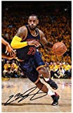 Lebron James - Cleveland Cavaliers Signed Autographed A4 Photo Print Poster