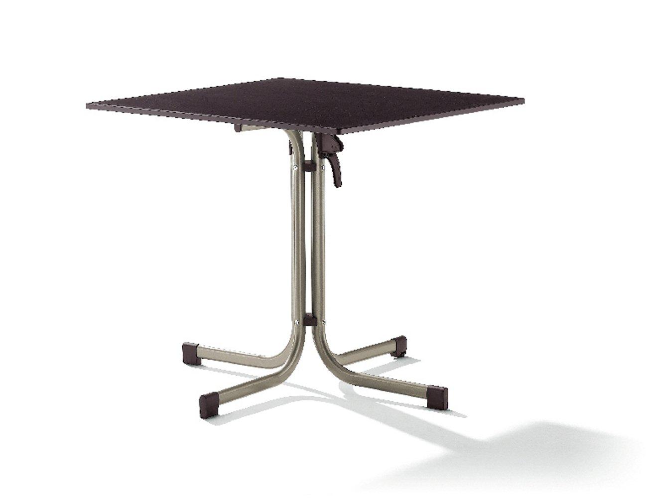 SIEGER 1330-50 Gastro Tavolo con pianale in Puroplan e struttura in acciaio, colore: Grafite/Antracite