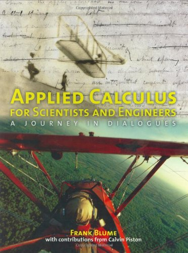 Applied Calculus For Scientists And Engineers