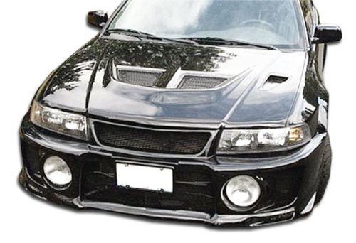 Duraflex Evo 5 Wide Body Front Fenders - 2 Piece Body Kit - Fits Mitsubishi Mirage - 1997 1998 1999 2000 2001 | 97 98 99 00 01 (ED-TSS-269) - Evo 5 Wide Body