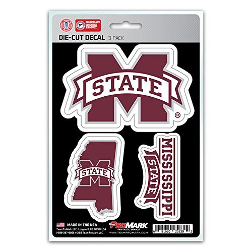 NCAA Mississippi State Bulldogs Team Decal, - Mississippi In Outlets