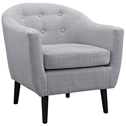 Modway Wit Armchair, Light Gray