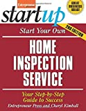 Start Your Own Home Inspection Service 9781599181288