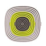 Binmer(TM) Kitchen Utensils 3 in 1 Silicone Heat Resistant Mat Pot Holder Non-Slip Bowl Plate Cup Coaster
